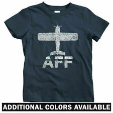 Fly AFF Air Force Kids T-shirt - Baby Toddler Youth Tee - Academy USAF Training