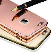 New Luxury Aluminum Ultra-thin Mirror Metal Case Cover for Apple iPhone Models