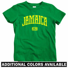 Jamaica 1962 Kids T-shirt - Baby Toddler Youth Tee - Kingston Marley Dancehall