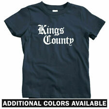 Kings County Gothic Brooklyn Kids T-shirt - Baby Toddler Youth Tee - NYC Gift NY