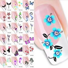 Bulk Flower Nail Art Sticker Water Transfer Stickers Decals Tips Decoration Hot