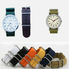 Wholesale Men's Nylon Sport Wrist WatchBand Strap Infantry Military Army 18/20mm