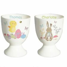 PERSONALISED EASTER EGG CUP Babys First 1st Easter Gift Idea   Childrens Present