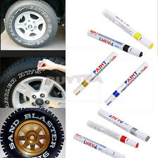 Permanent Waterproof Car Tyre Tire Metal Marker Paint Pen Quick-drying 7 Colors