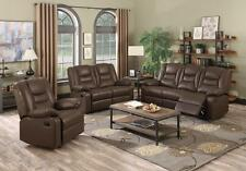 KIRK Recliner Sofa 3 Seater 2 Seater 1 Seater BONDED LEATHER