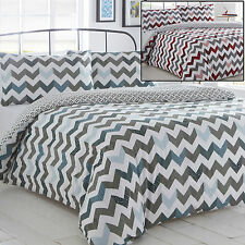 Pieridae Bedding Set Duvet Cover and Pillowcase Quilt Single Double King Chevron