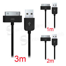 3/5/10x Lot USB DATA SYNC CHARGING CABLE LEAD FOR iPHONE 4 4S 3G 3GS iPAD 2 iPOD