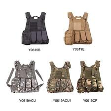 Tactical Airsoft Paintball Hunting Combat Vest Pistol Gun Holster Waistcoat G1V8