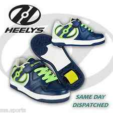Heelys Hyper Boys Girls Kids Junior Roller Skates Trainers Shoes UK Size Navy