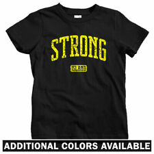 Strong Island New York Kids T-shirt - Baby Toddler Youth Tee - Long NYC LIRR NY