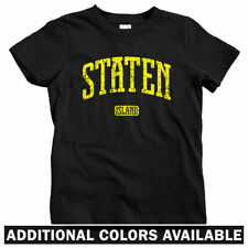 Staten Island NYC Kids T-shirt - Baby Toddler Youth Tee - New York 718 Wu-Tang