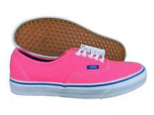 VANS. Authentic. Brushed Twill. Pink / Blue. Womens Casual Shoe. US Size 4.0