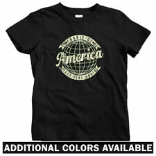 Voyager Kids T-shirt - Baby Toddler Youth Tee - Travel America USA Wanderlust