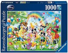 RAVENSBURGER DISNEY MICKEYS BIRTHDAY 1000 PIECE JIGSAW PUZZLE NEW GIFT AGE 10+