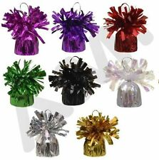 1/6/12/108 HELIUM BALLOON WEIGHTS WEDDING BIRTHDAY PARTY DECORATIONS 8 COLOURS