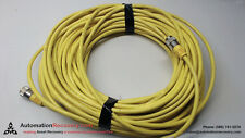 TURCK RSM RKM 461-40M/S3059, CORDSET, 4 POLE, MALE/FEMALE, STR, 40M #214342