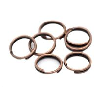 New Lots Stainless Steel Double Loop Split Open Jump Ring Jewelry Finding 4-14mm