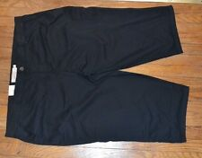 Black Sonoma Capri Mid Rise Cropped Pants Stretch Waistband Brand New Size 24W