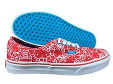 VANS. Authentic. Red / White / Blue Hello Kitty Shoe. Women's US Size 9.0