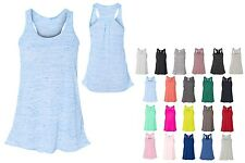 LADIES RELAXED FIT, ROUND NECK, RACERBACK, A-LINE, TANK TOP, XS S M L XL 2X
