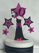 Evening Gown or Basque Birthday Cake Topper Many Colours and Ages