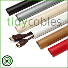 D-Line 30x15 Cable Trunking Off-Cuts - 25cm Lengths (All Colours)