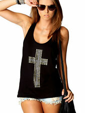 Hottest Sexy Women Strap Tank Tops Spring Summer Sleeveless Vest Loose Blouse