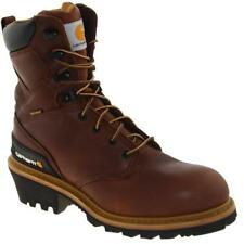 Carhartt Mens CML8130 Logger Work Boots Waterproof Soft Toe
