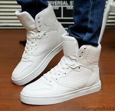 fashion Men's casual High-top  Sneakers Sport shoes Athletic shoes ankle boots