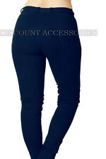 HORSE RIDING WOMENS LADIES SOFT STRETCHY JODPHURS/JODHPURS JODS NAVY