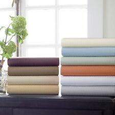 Elegant Bedding's 1800TC Luxury Hotel Stripe Pillowcases, 100% Egyptian Cotton