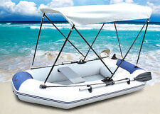 Inflatable Boat Fishing Raft Tender Dinghy Travelling 3 person Kaya with Floor