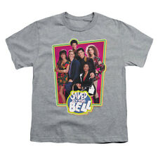 Saved By The Bell Men's  Saved Cast Youth T-shirt Heather Rockabilia