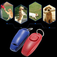 Dog Clicker & Whistle-Training,Obedience,Pet Trainer Click Puppy With Guide Tool