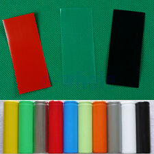 20PCS Li-ion 18650 Battery Wrap PVC Heat Shrink Tubing Precut Color Choice HM