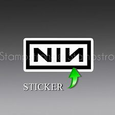 3 Inch NIN Nine Inch Nails Vinyl Sticker