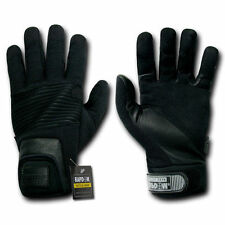 Leather Duty Gloves Tactical Fast Rope Rescue Repel Rapid Dominance Rapdom T16