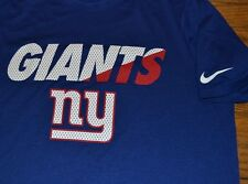 Nike DRI-FIT Athletic Top NY Giants Officially Licensed NFL Merchandise Training