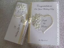 Personalised Wedding  Card and/or Gift Voucher Wallet