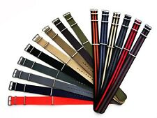 NATO G10 ® Ballistic nylon 2 3 4 5 pack watch band strap RAF Military IW SUISSE
