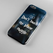 Don't Touch My Wand Muggle Phone Case Cover for All mobile