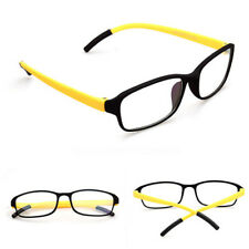 New Tr90 Eyeglass Frame Women Men Glasses Spectacles Eyewar Clear Lens UV400