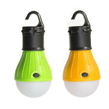 Outdoor Hanging 3LED Camping Tent Light Bulb Fishing Lantern Lamp New BE