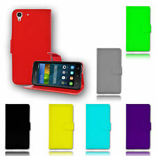New Magnetic Wallet Flip TPU Card Holder Leather Stand Case Cover For Huawei Y6