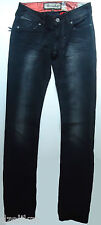 NWOT $198.00 Remetee by Affliction Womens Disstresed Slim Straight Jeans Sz 28