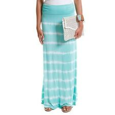 Hadari Women's Contemporary Tie-Dye Foldover Maxi Skirt. Brand New