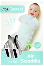 ERGO AIR COCOON - SOFT BAMBOO WRAP - 2 SIZES AVAILABLE - NAVY ARROW ergoPouch