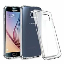 Ultra Slim Clear Gel Silicone Cover Case For Samsung Galaxy S7, S7 Edge