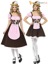Ladies Sexy Tavern Girl Costume Adult Oktoberfest Bavarian Fancy Dress German