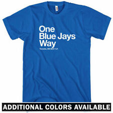 Toronto Baseball Stadium T-shirt - Men S-4X - Fan Gift Blue Jays T-Dot Ontario